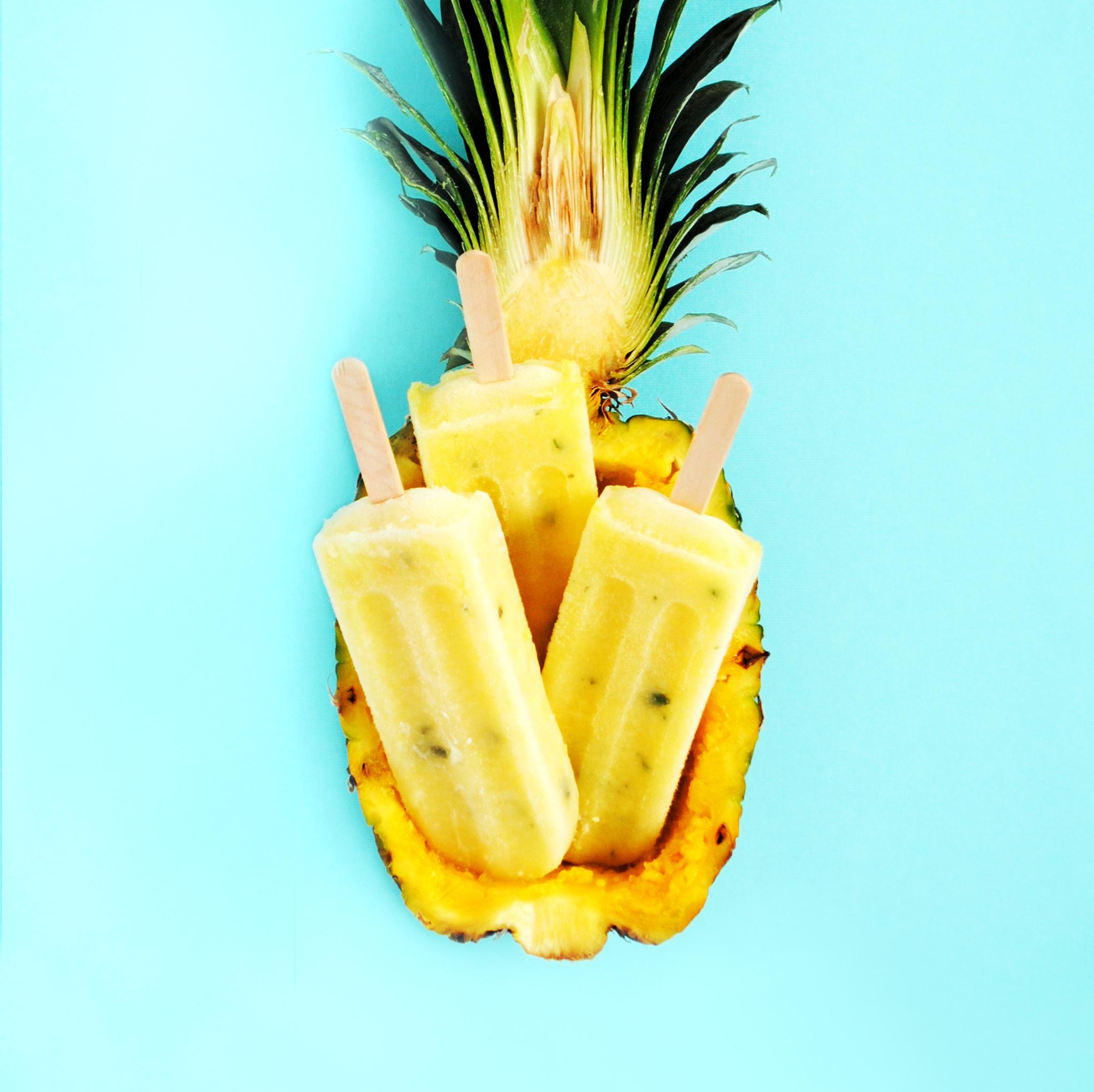 Popfancy Pineapple Mojito Popsicle
