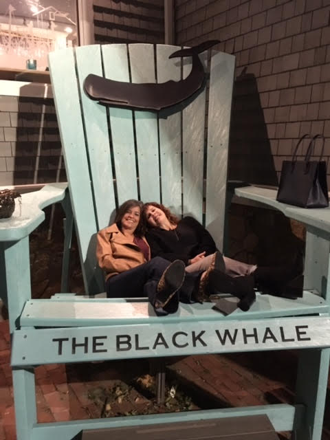 HAD A WHALE OF A TIME