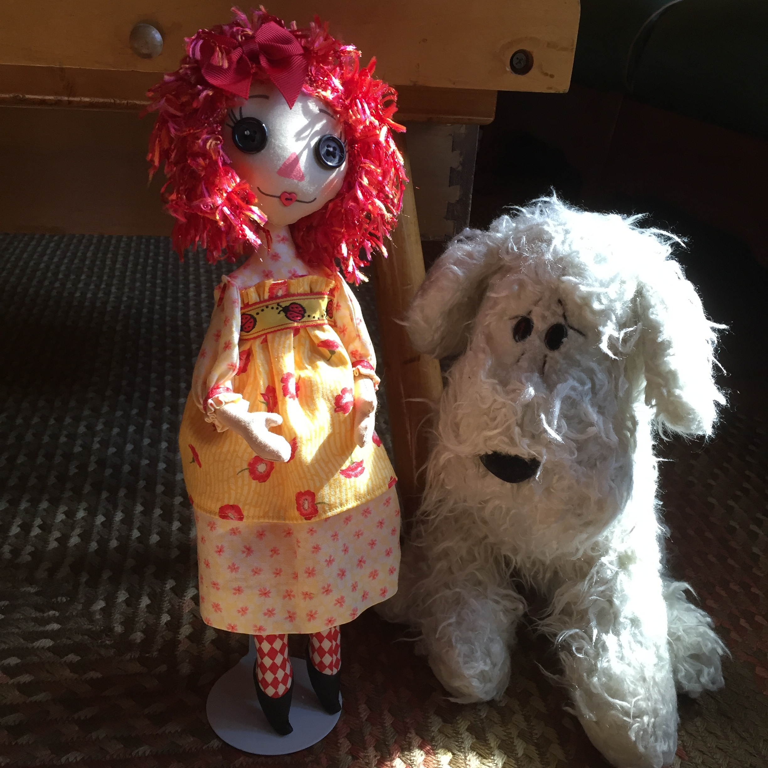By Beth Duncan (face from the  Sweet rag dolls  collection)