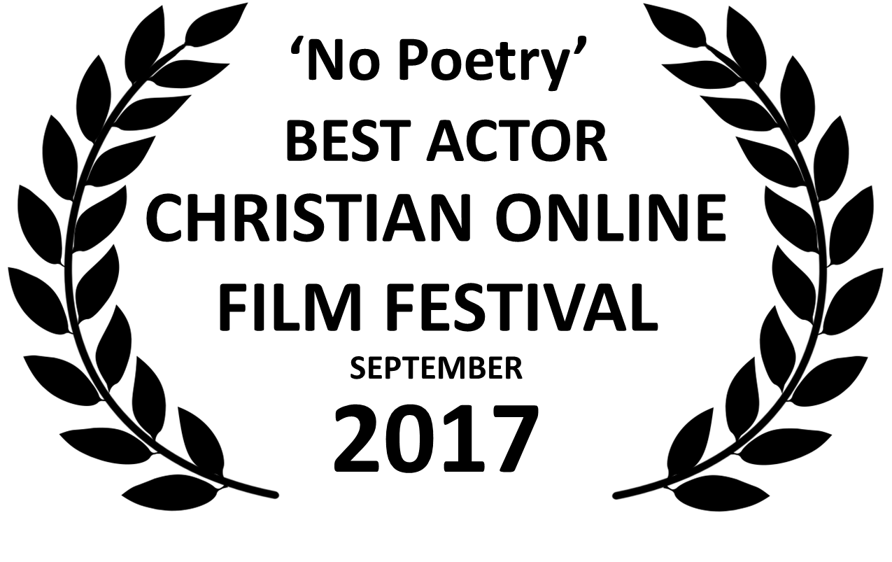 No Poetry Best Actor Award Black Laurels COLFF Sep 17.png