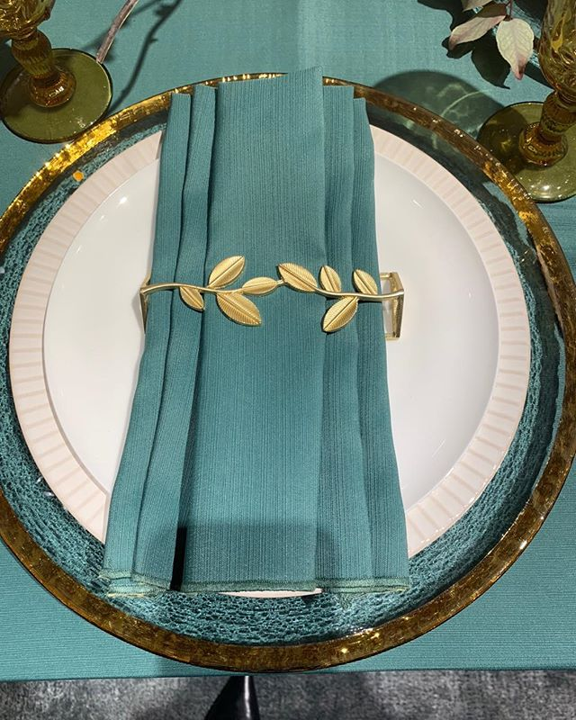 Tin Parade Napkin Wraps launch at West Elm in Santa Monica!  A touch of class! @tinparade @3wishespr