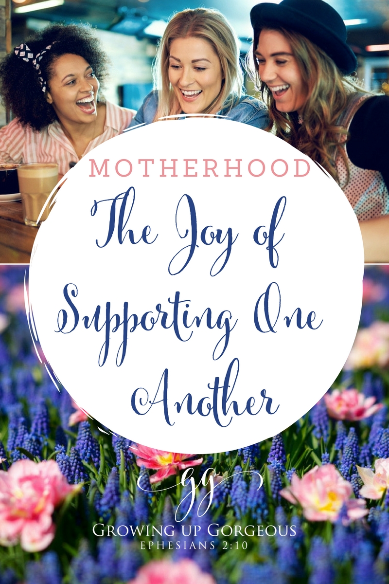 The Joy of Supporting One Another: 4 Steps to better support your other mamas
