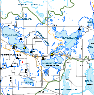 Click image to see a map of the Oconomowoc Watershed.