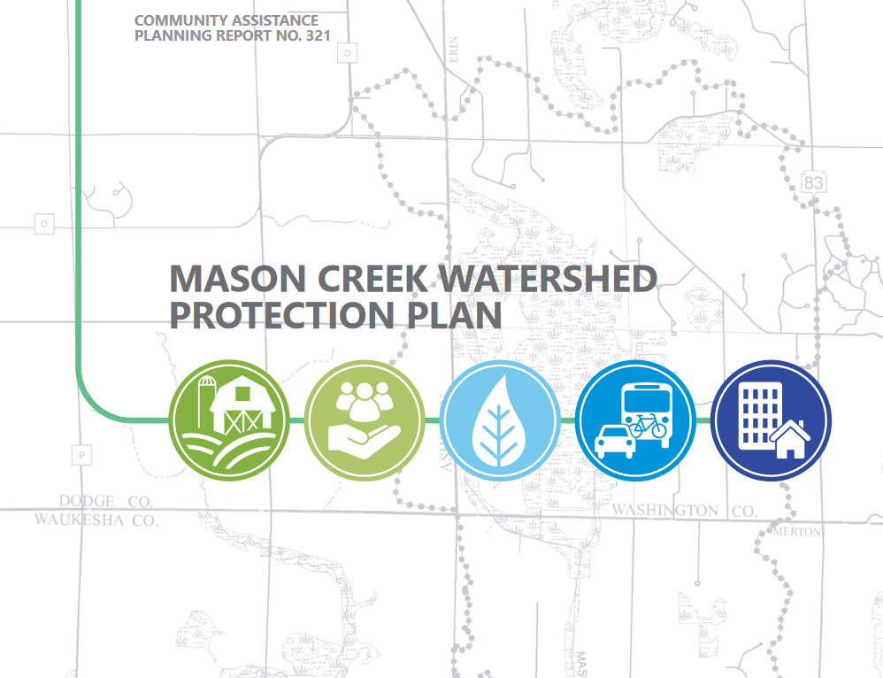 Click image to read about the Mason Creek Watershed Protection Plan.