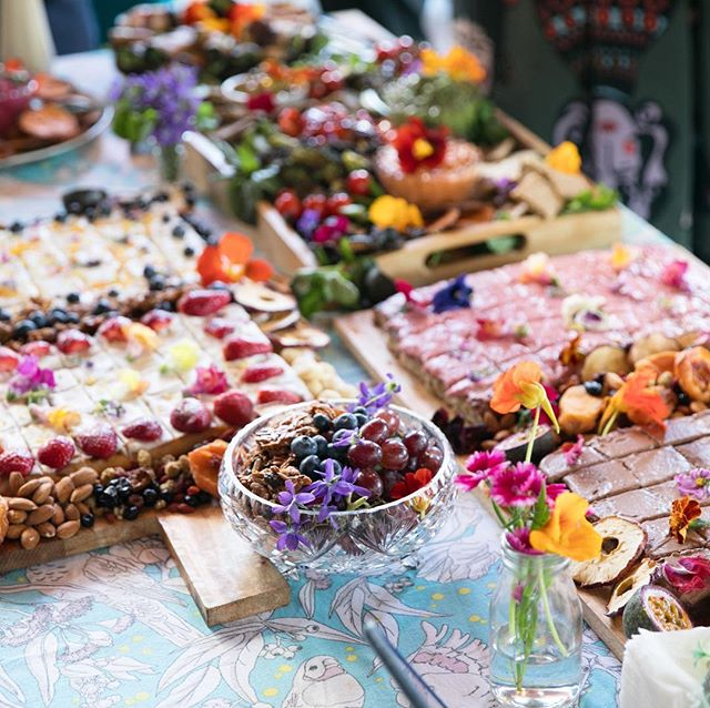 Last weeks afternoon spread of cakes, dried fruit and savouries eats for @thehappyfamilylawyer's Happy Lawyer Happy Life Podcast Party! 🎊🌸❤️💥🍏🌸💥❤️🎊🍏 I of course enjoyed making and presenting yummy food for my favourite bunch of lawyers! 📸 @marshallreesphotography #foodbakedwithlove #cateringbrisbane #podcastparty #happylawyerhappylife