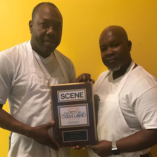 TASTE OF JAMAICA takes the trophy again! We are so THANKFUL for ALL of our customers & your CONTINUED support year AFTER year! 🏆🏁 #ClevelandScene #BESTJamaicanRestaurant 🇯🇲 #2015 #2016 #2017 #2018 #2019