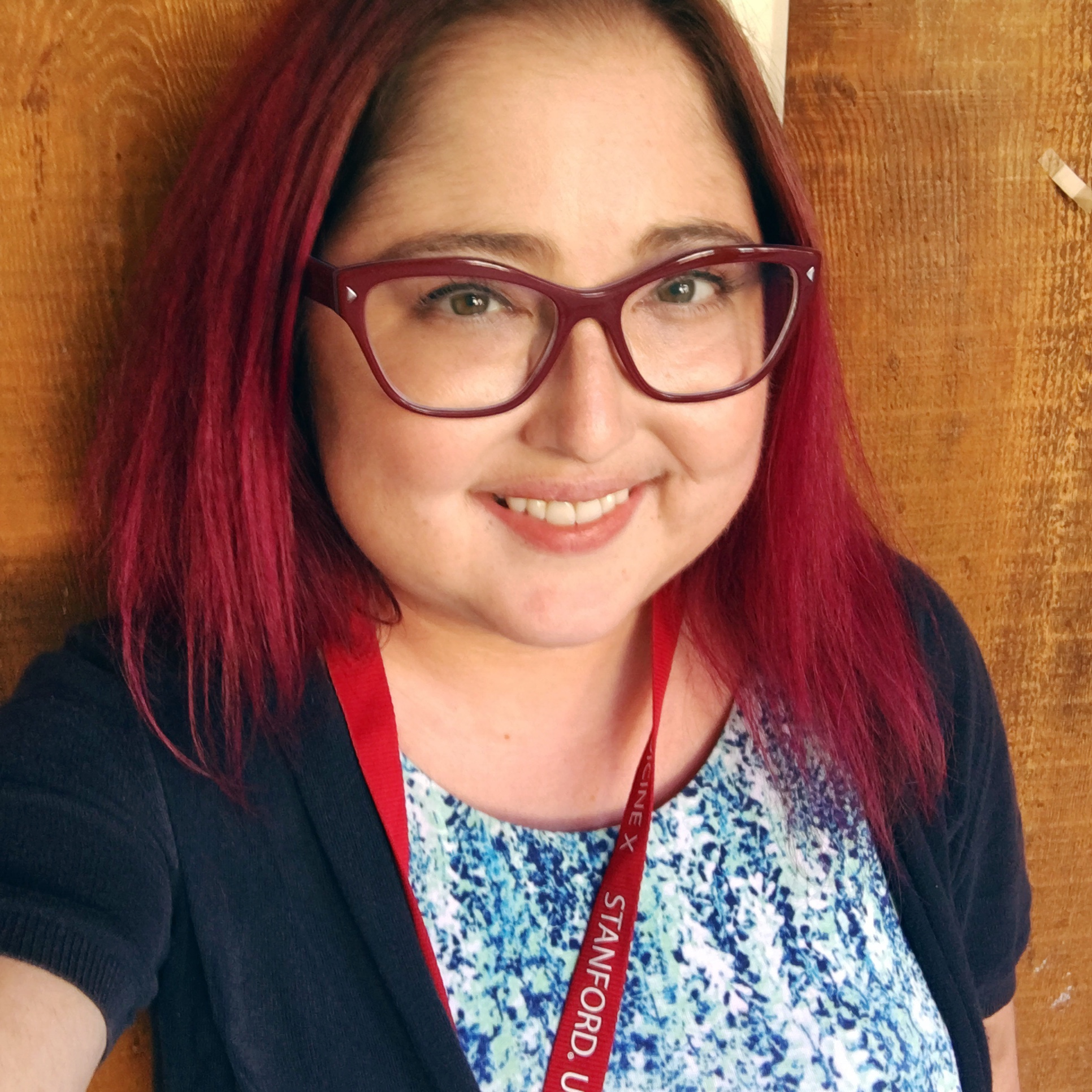 Heather as an ePatient Scholar at Stanford's Medicine X 2016