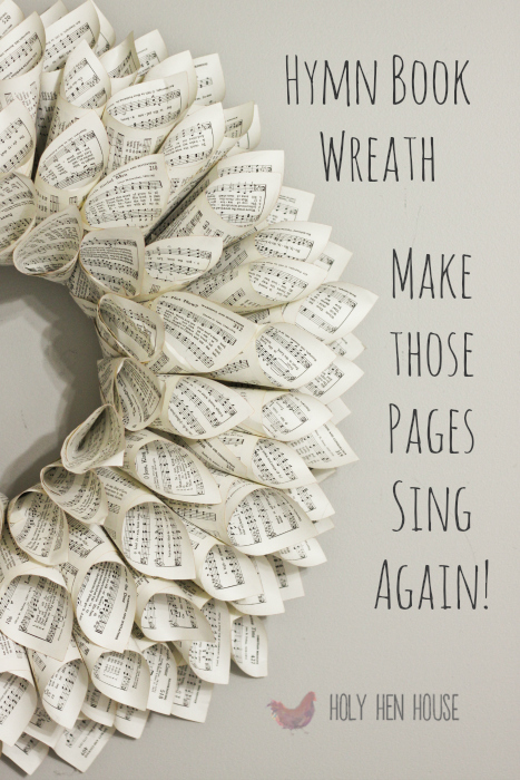 hymn page wreath words