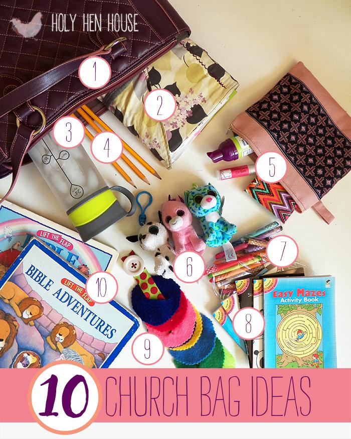 10 Church Bag Ideas