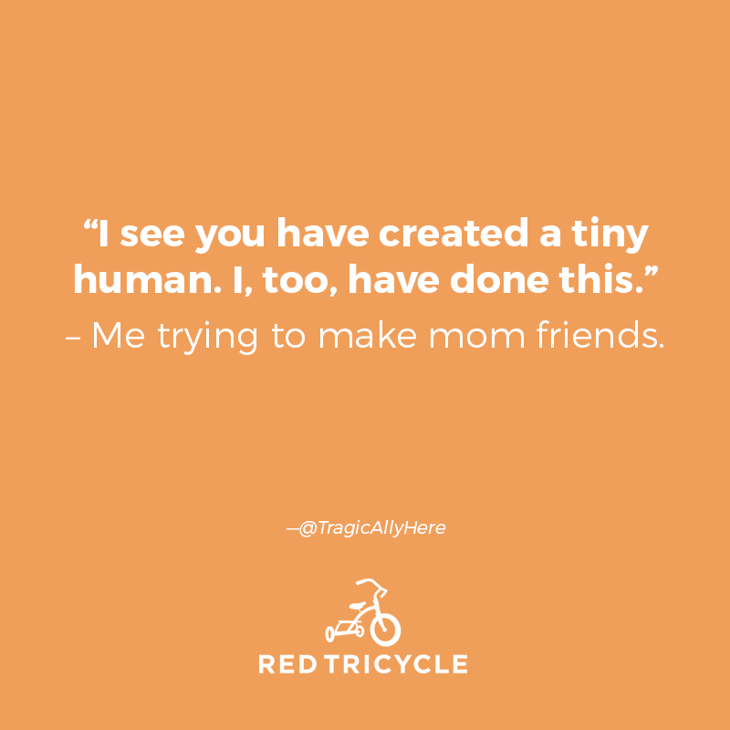 This cute meme is from Red Tricycle.