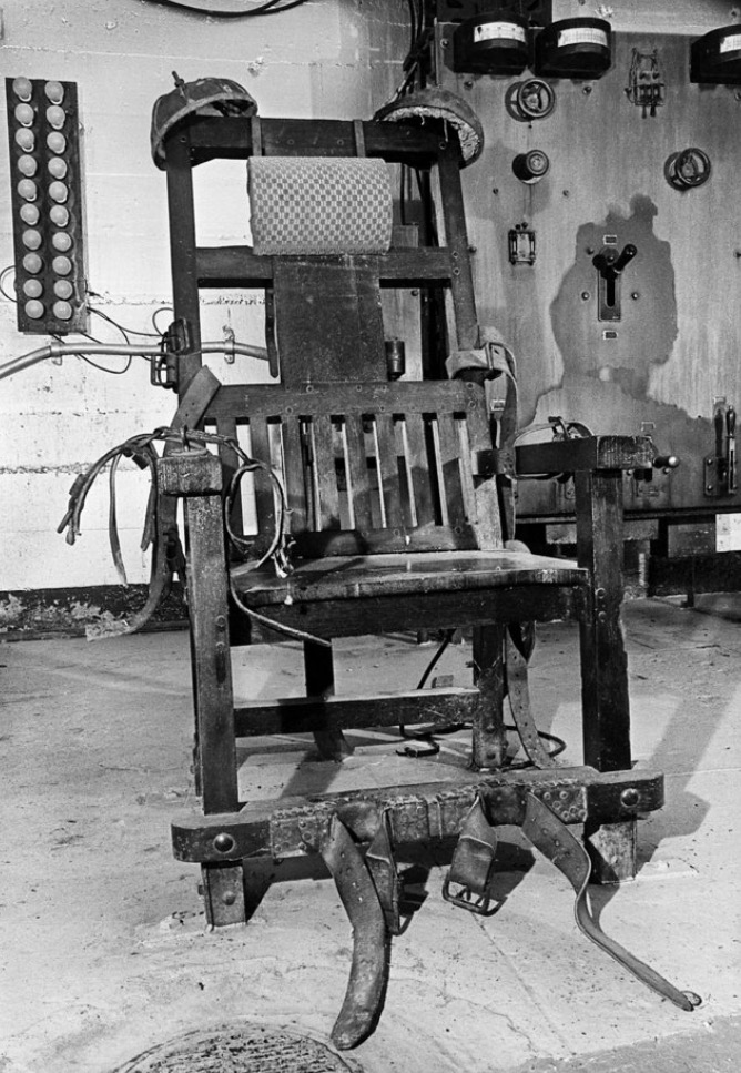 'Old Sparky' - Photo by Paul B. Southerland, The Oklahoman