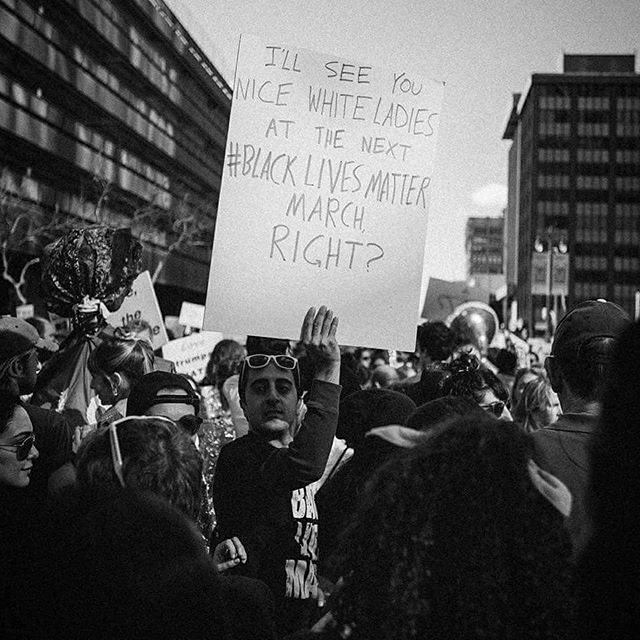 Yes. #millionwomenmarch #intersectionalfeminism #ismyfeminism