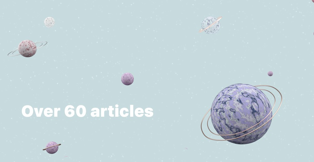 Over 60 Articles