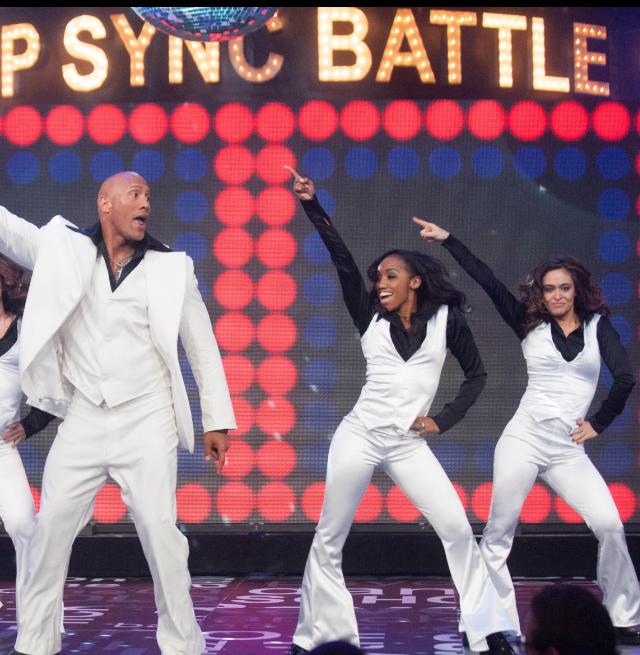 Hustling as a dancer on Lip Sync Battle.