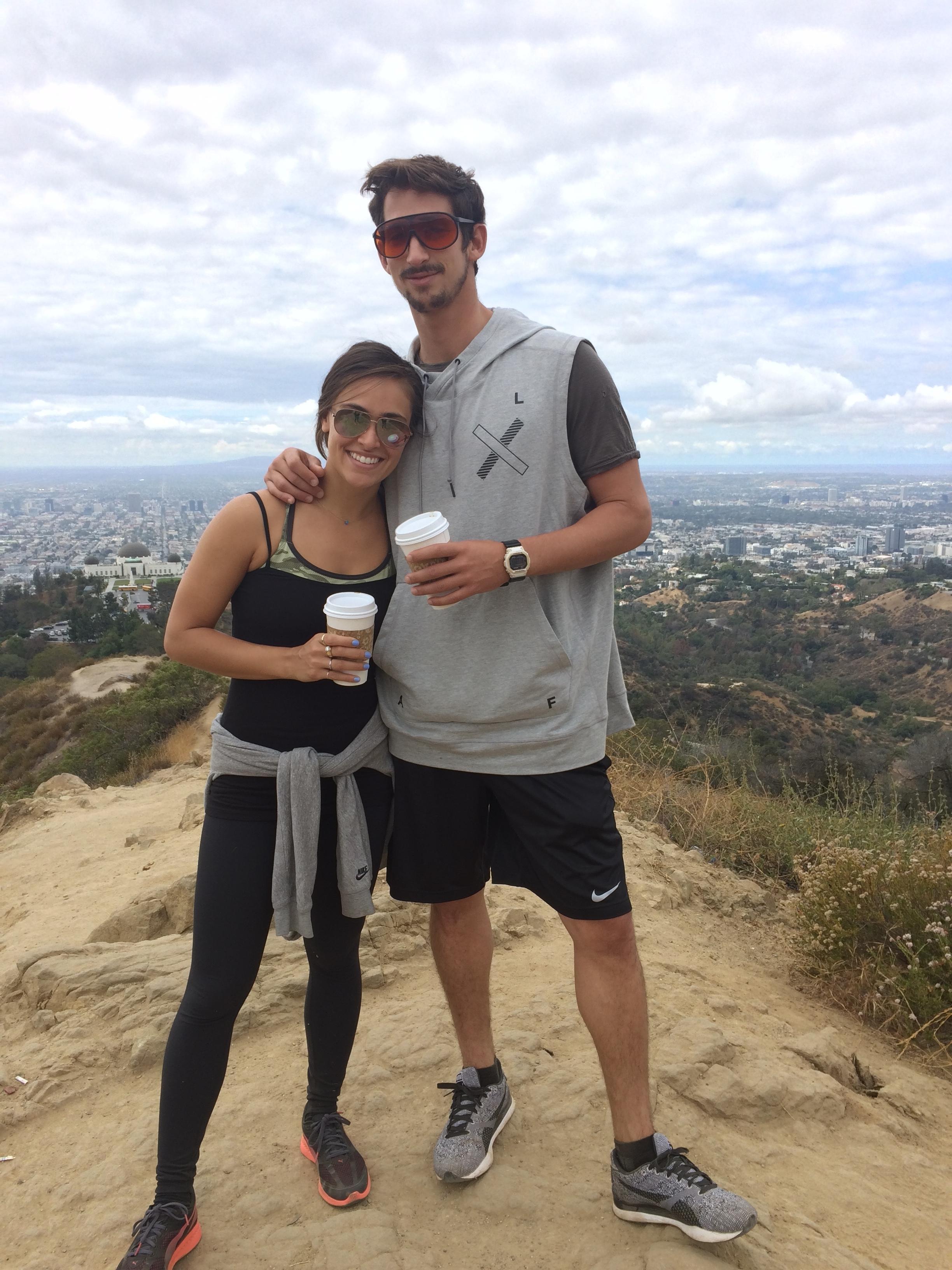 In flow on a hike in LA...