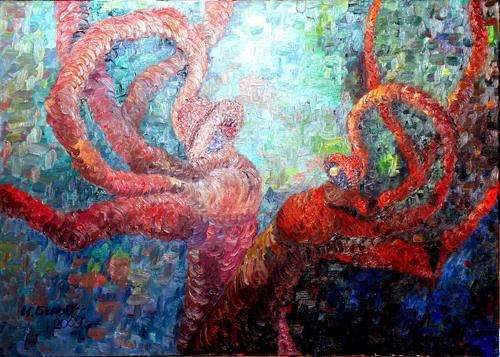 The Third Eye by Irina Belova; oil on canvas, 2009.