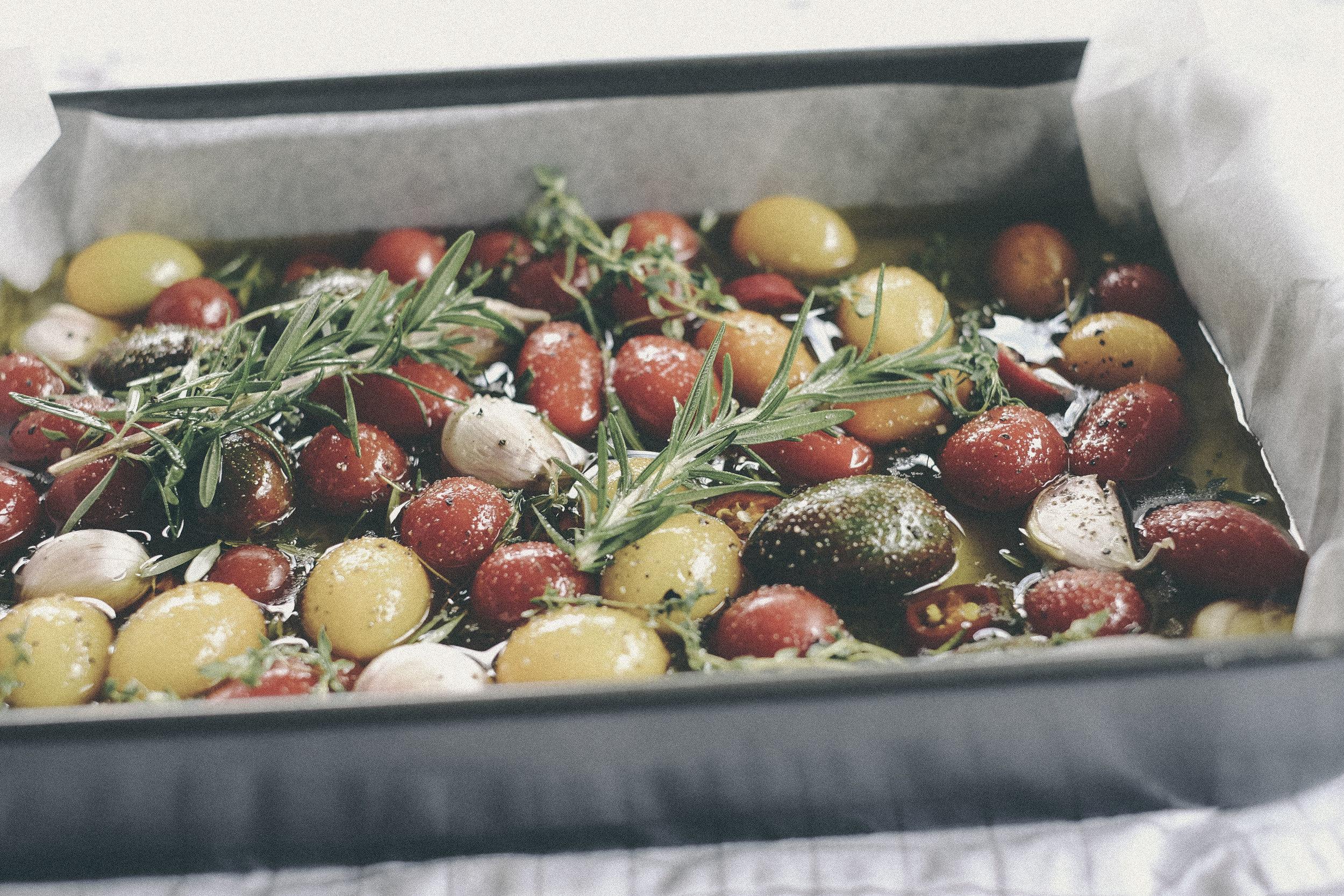 dérrive recipe - tomato confit