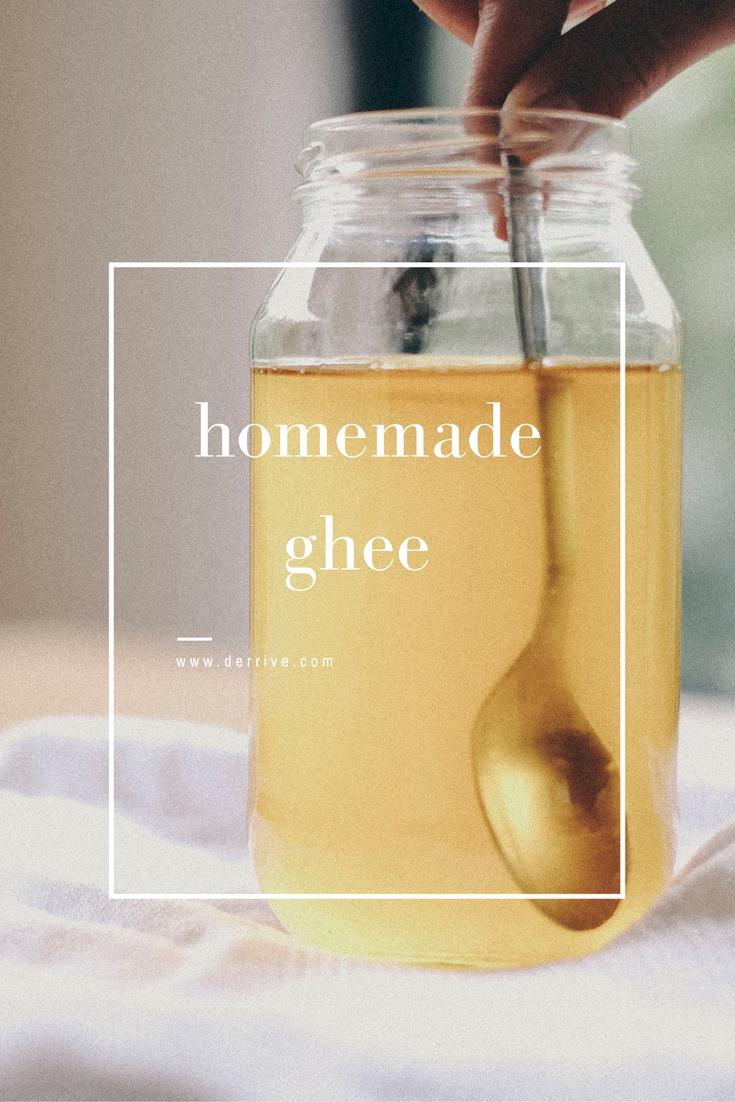 homemade ghee recipe - www.derrive.com
