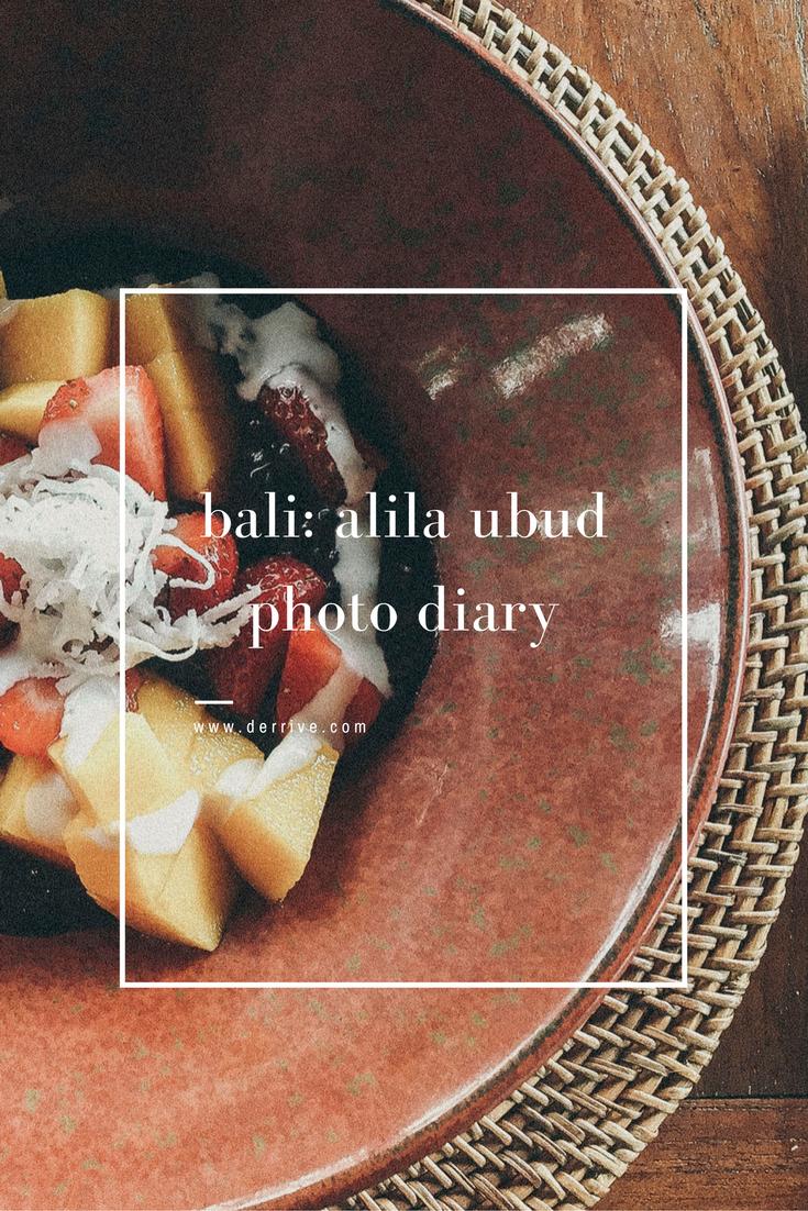 bali: alila ubud photo diary www.derrive.com
