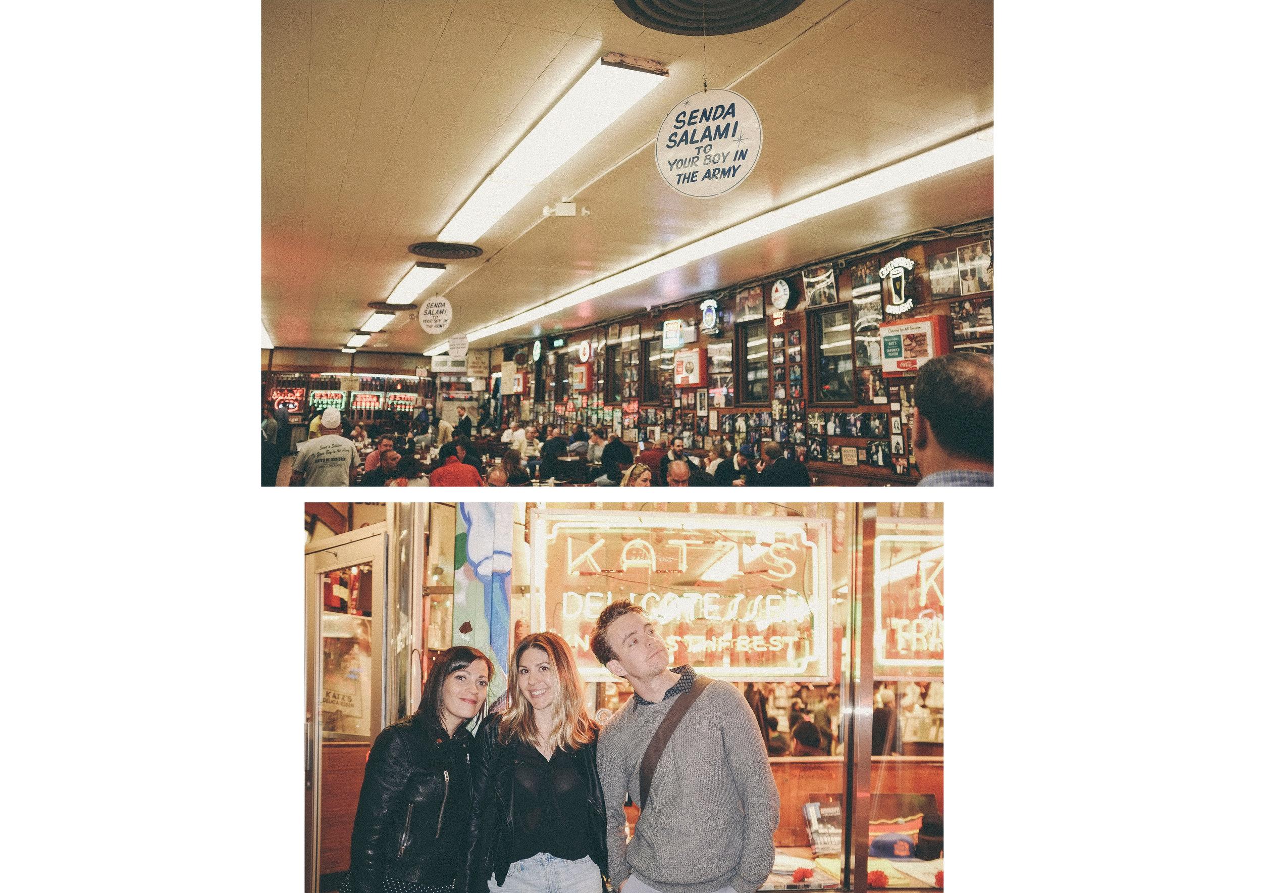 dérrive travel - KATZ'S DELI, new york #katzsdeli #soho #dumbo #newyork #nyc #brooklyn