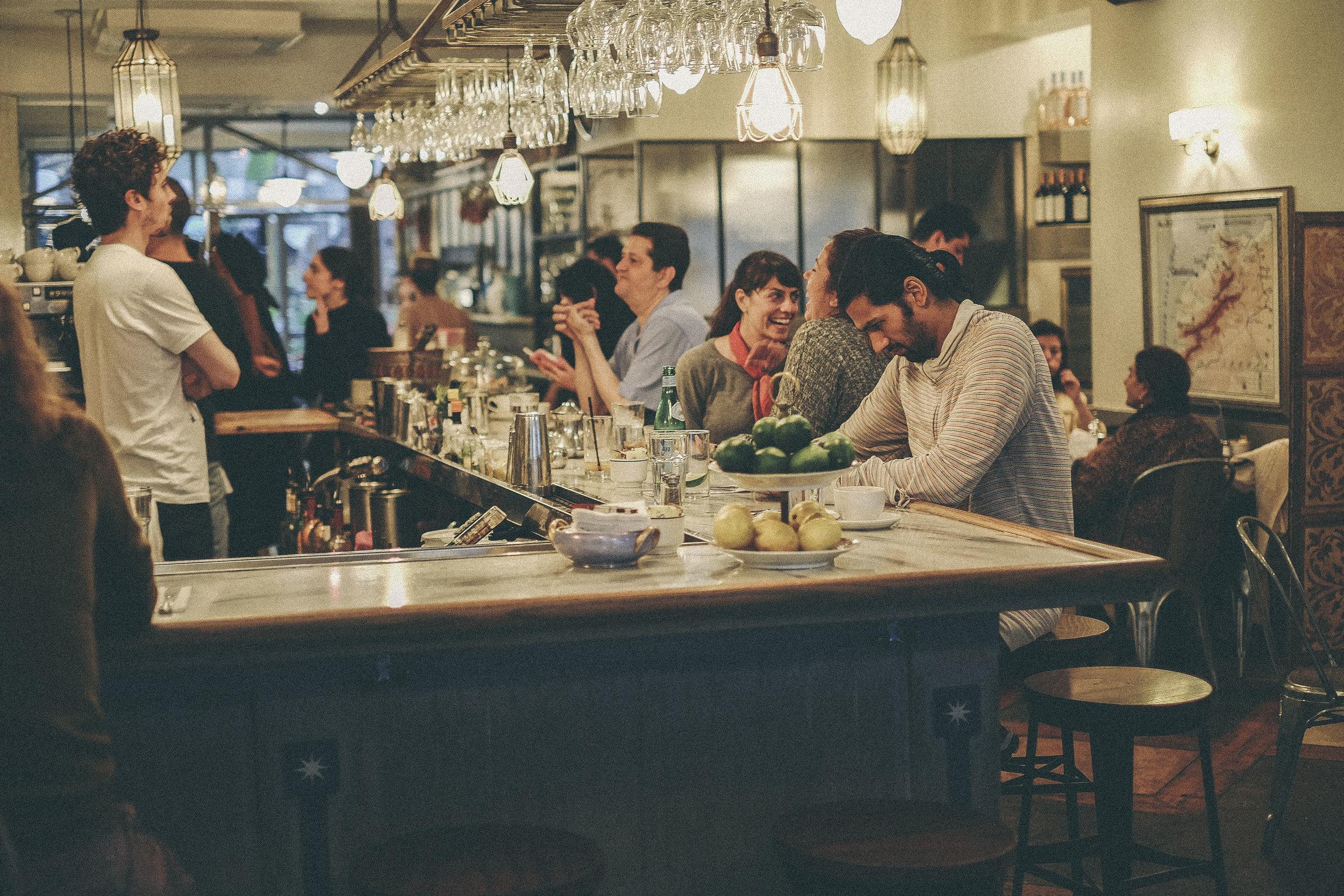 dérrive travel - CAFE MOGADOR, new york #cafemogador #katzsdeli #soho #dumbo #newyork #nyc #brooklyn