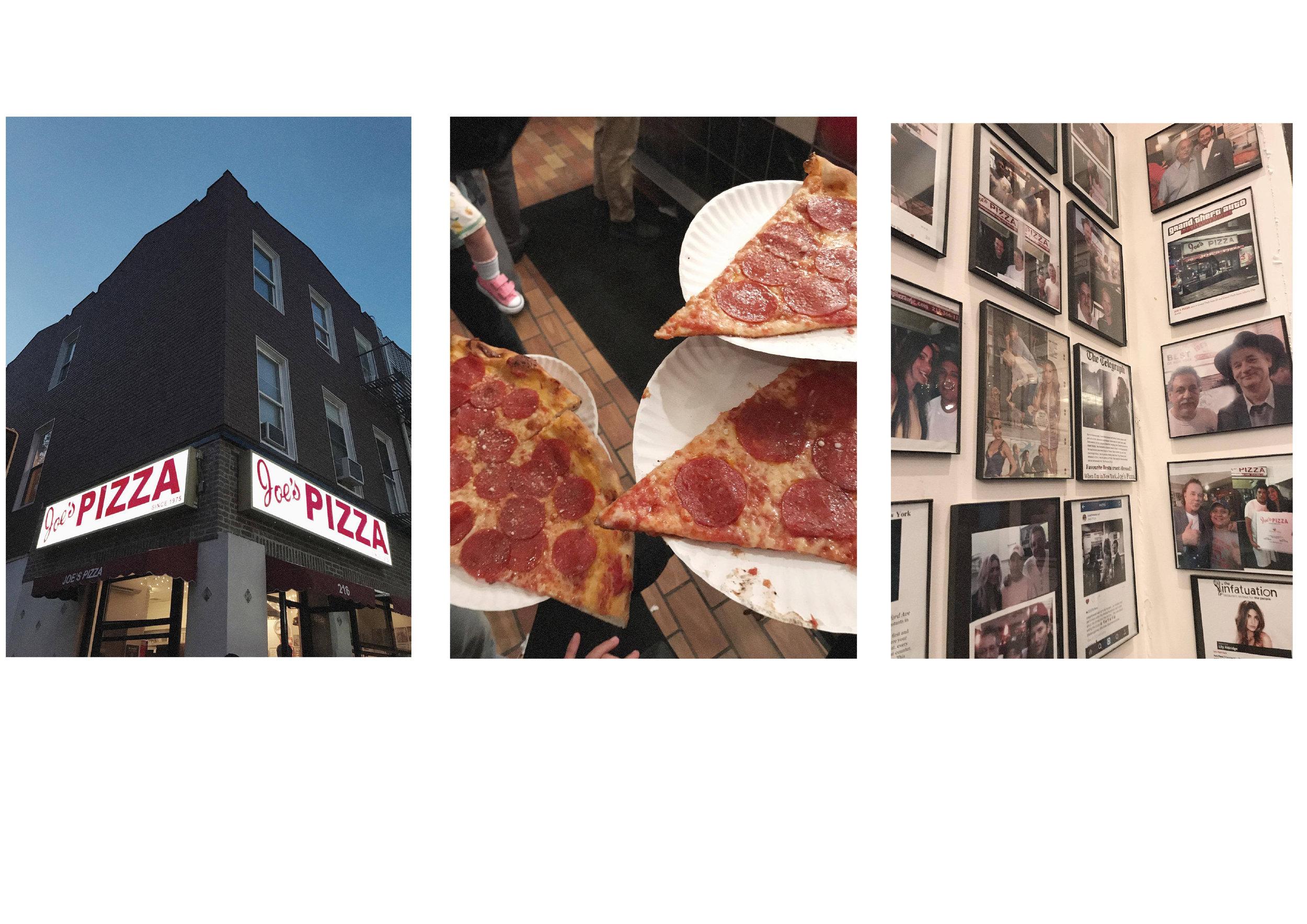 dérrive travel - JOE'S PIZZA WILLIAMSBURG, new york #joespizza #williamsburg #cafemogador #katzsdeli #soho #dumbo #newyork #nyc #brooklyn