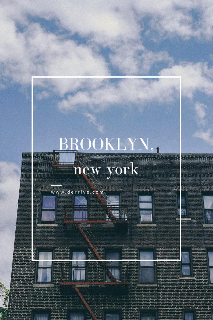 BROOKLYN, new york www.derrive.com #newyork #nyc #brooklyn #traveldiary #travelguide #travelblog