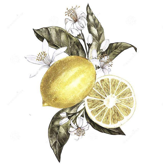lemon glow 🍋