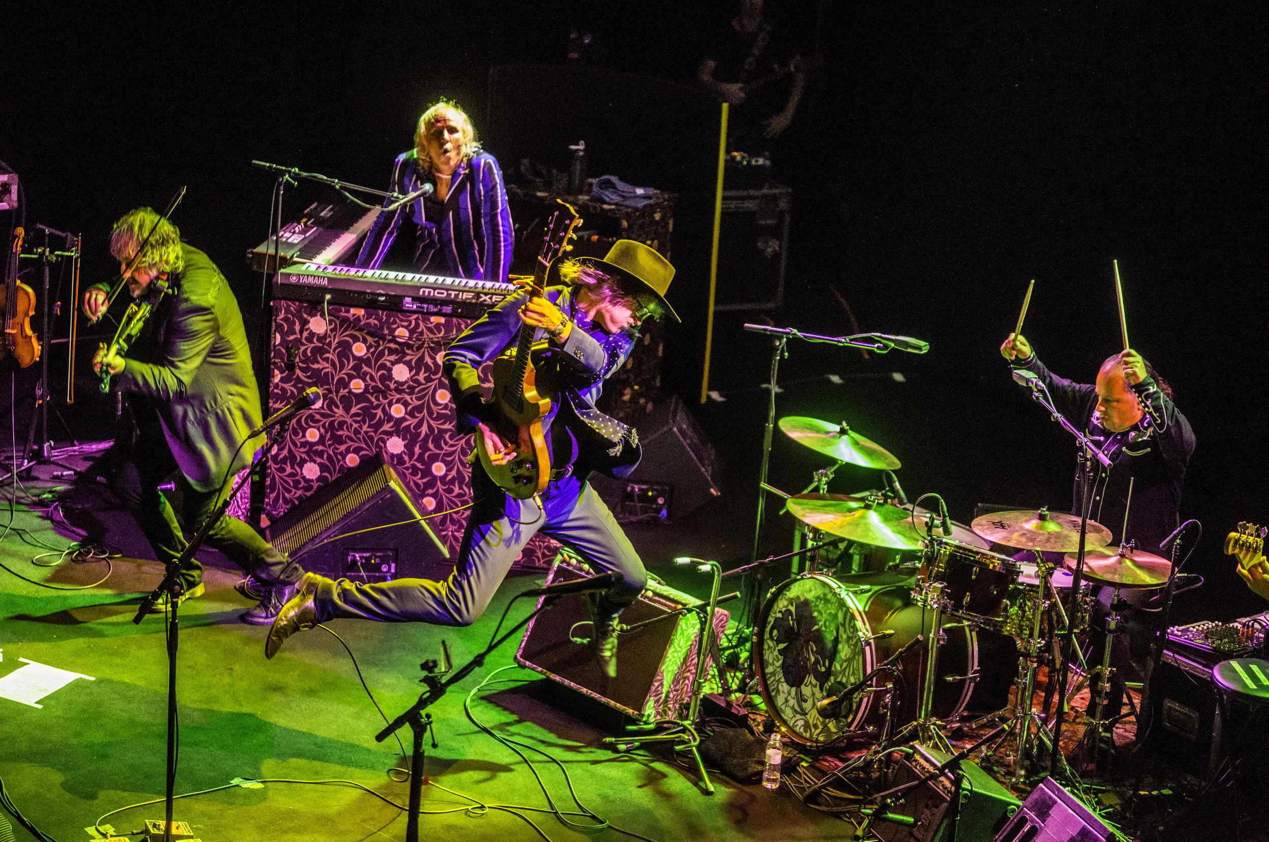 The Waterboys photo by Xavier Mercade   Download Hi-Res Image