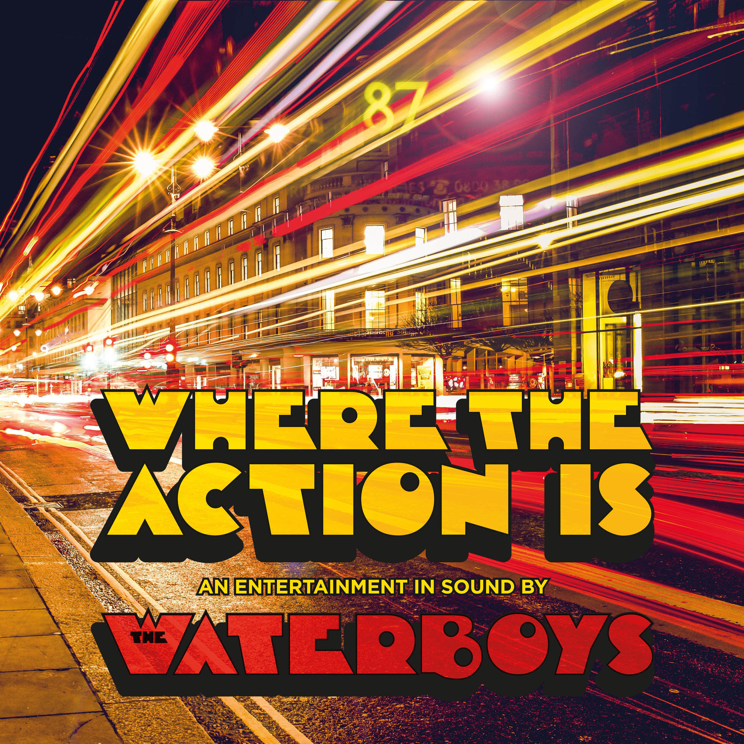 Where The Action Is  Album Cover Art   Download Hi-Res Image