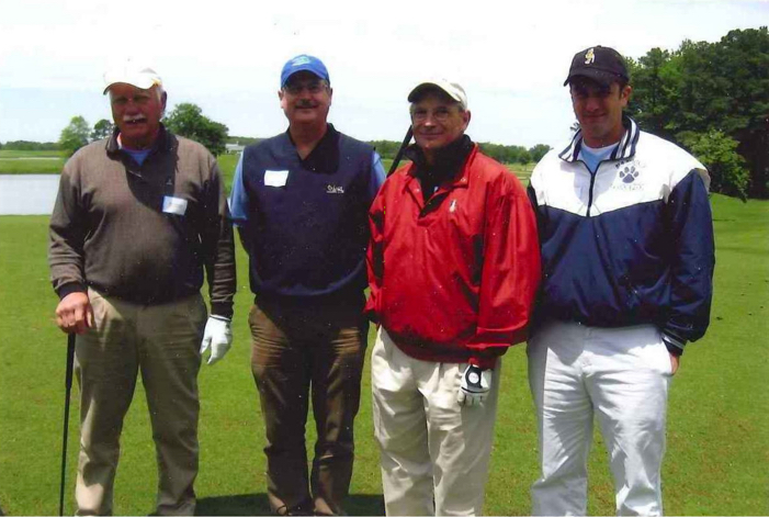 From Left to Right: Bob Willoughby (LRH Soil Consultants, Inc.), Michael White (Resource – Chesapeake Office Branch Manager), Michael E. Fiore (Resource - President), and Mark Furlo (Isle of Wight County Park Administrator)