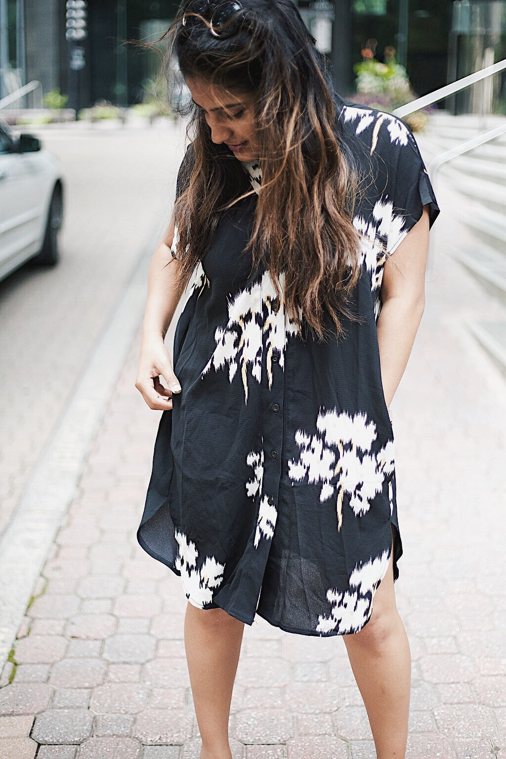 Black Floral Dress MakeMeChic.jpeg