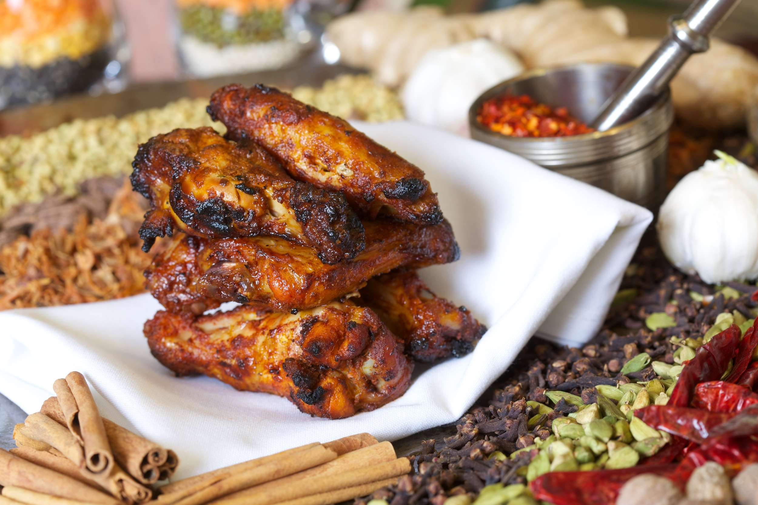 Appetizer - Tandoori Wings