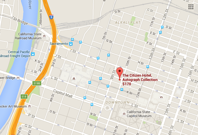 The Citizen Hotel, Autograph Collection, 926 J Street, Sacramento, CA