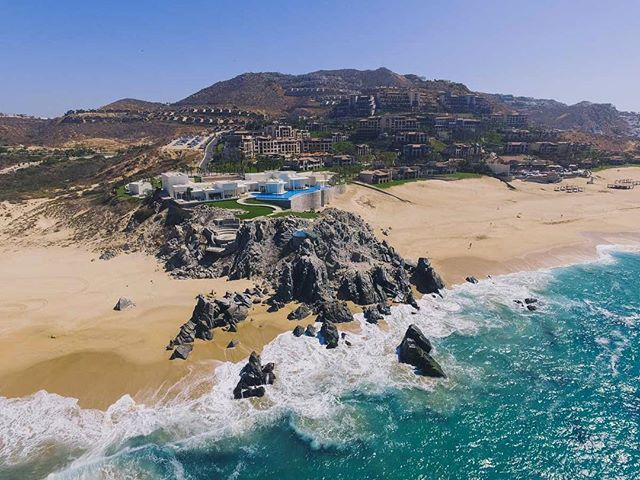 In Cabo for today's wedding! 🌊🌴 #fromwhereidrone