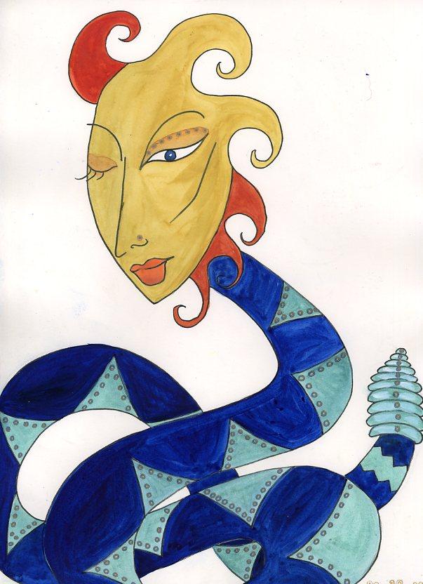 Goddess Mertseger by Kathy Crabbe