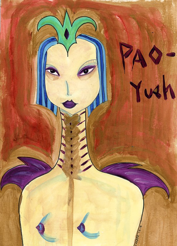 Pao-Yueh by Kathy Crabbe