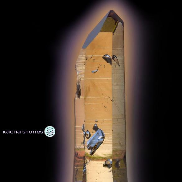 Negative Manifestation Crystals ~ Omapeleki Brandbergs by Kacha Stones