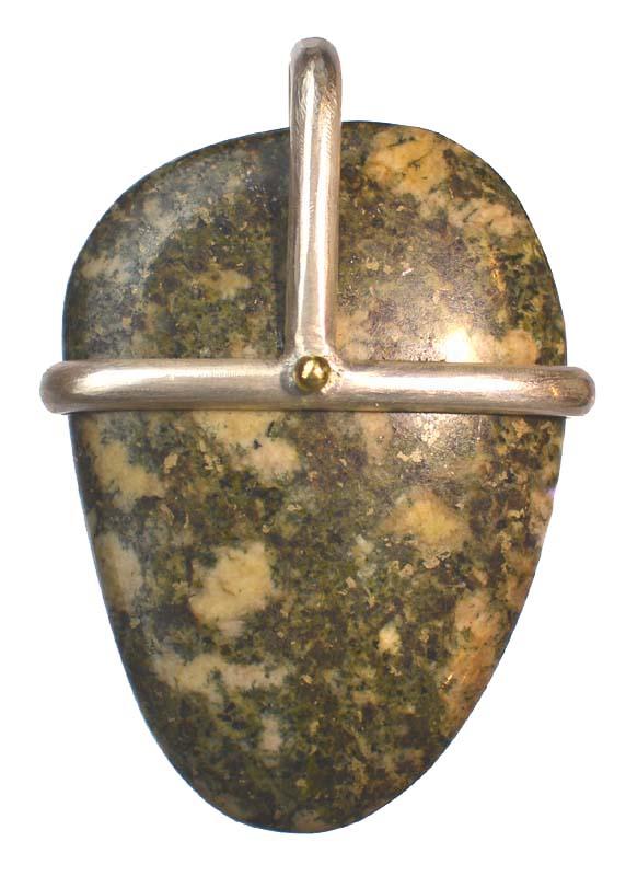 preseli bluestone-a Pendant from Kacha Stones