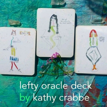 Lefty Oracle 3 Card Spread by Kathy Crabbe