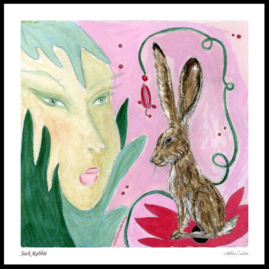 Jack Rabbit by Kathy Crabbe