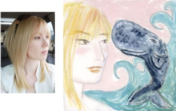 Spirit Animal Whale for Angela