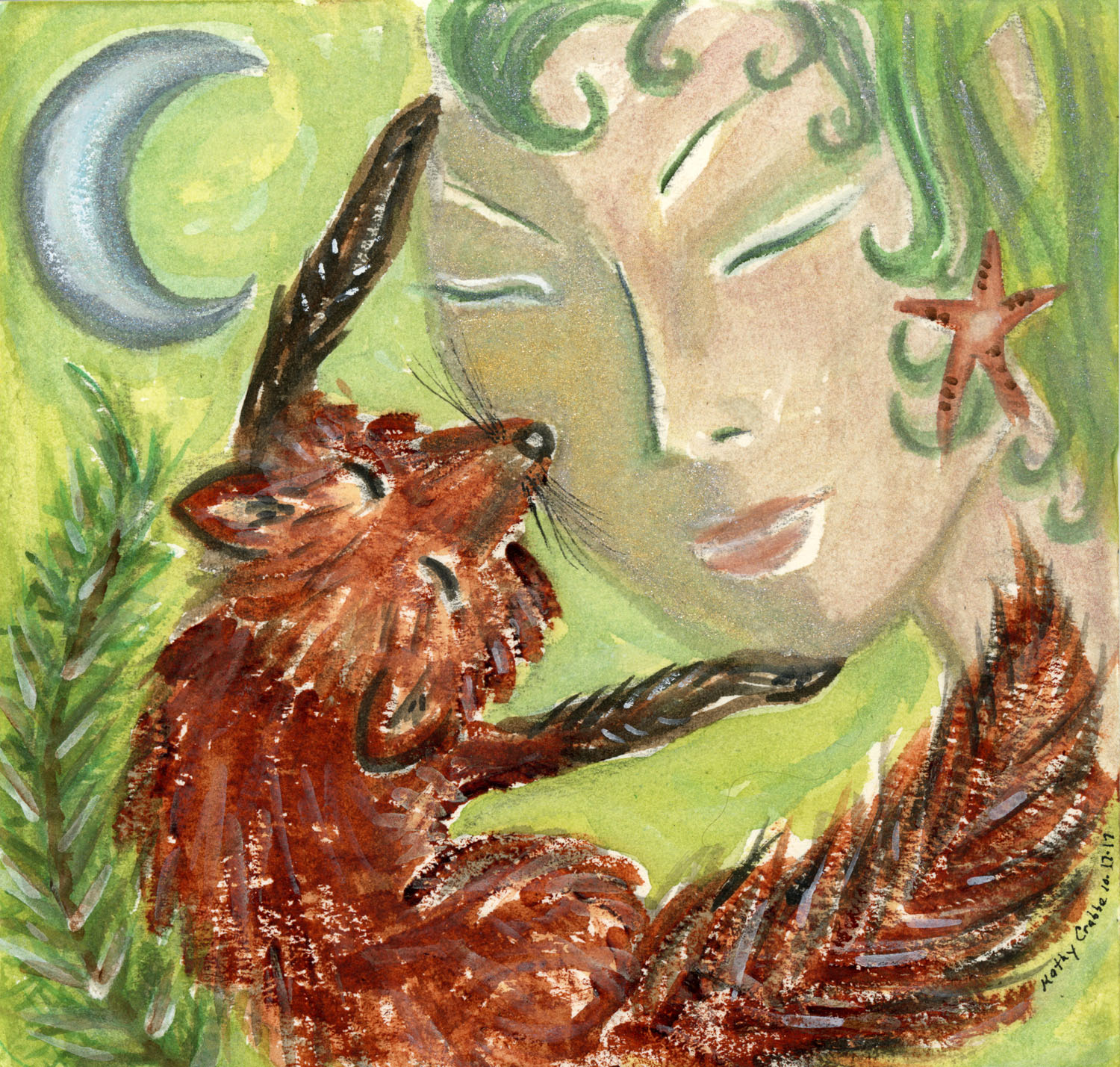 Foxy Magick by Kathy Crabbe