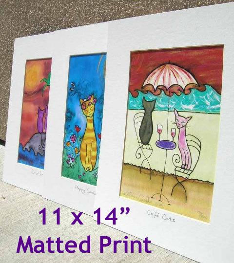 LuLu in Laguna 11 x 14 Matted Prints