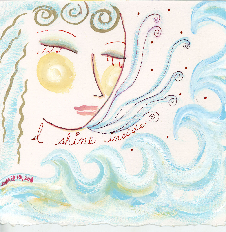 I Shine Inside by Kathy Crabbe