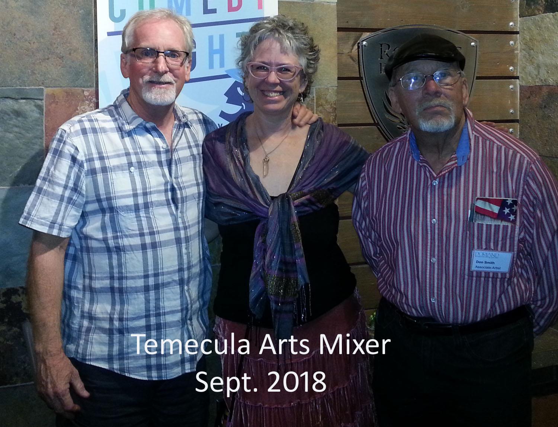Temecula arts mixer sept. 2018