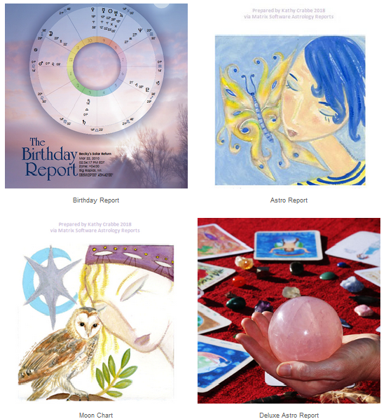 Astrology Reports by Kathy Crabbe