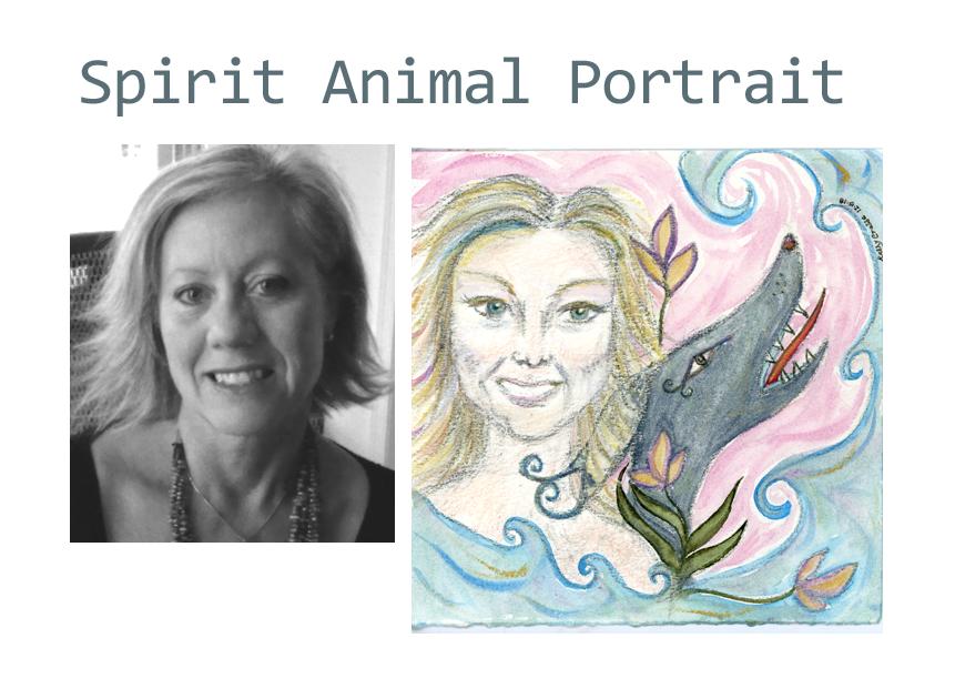 Spirit Animal Portrait for Rhonda