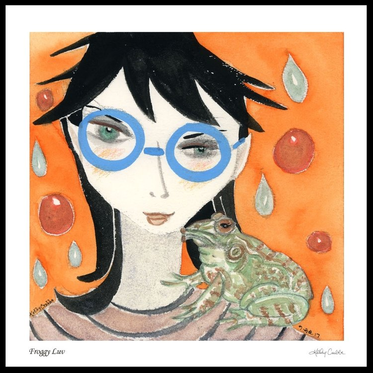 Froggy Luv - Cancer Moon Elfin Ally Oracle by Kathy Crabbe