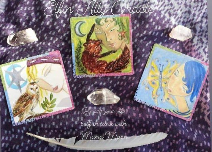 Elfin Ally Deck by Kathy Crabbe